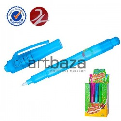 Ручка с невидимыми чернилами и ультрафиолетовым фонариком, Magic