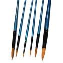 Кисть синтетическая Shine Blue (10213), круглая, CONDA
