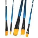 Кисть синтетическая Shine Blue (10212), плоская, CONDA