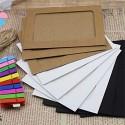 Наборы для портфолио (бумажные рамки для фото с прищепками)