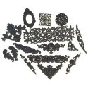 Наборы фурнитуры для шкатулок и скрапбукинга