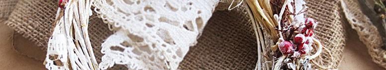 Джутовые шпагат, веревка, лента, тесьма для декора и рукоделия в стиле рустик