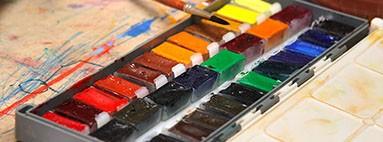 Художественные акварельные краски для живописи и рисунка