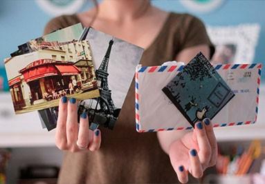 Сувенирные открытки для посткроссинга